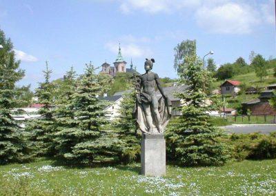 socha Hermese,klášter.jc